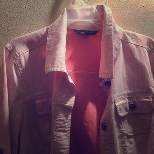 Jackets & Blazers - Pink jean jacket